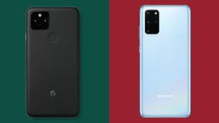 Google Pixel 5 vs Samsung Galaxy S20