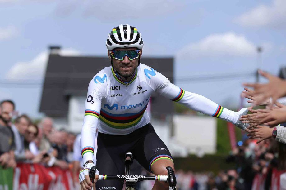 Alejandro Valverde holds off Ivan Sosa at La Route d'Occitanie to take first victory since return from injury
