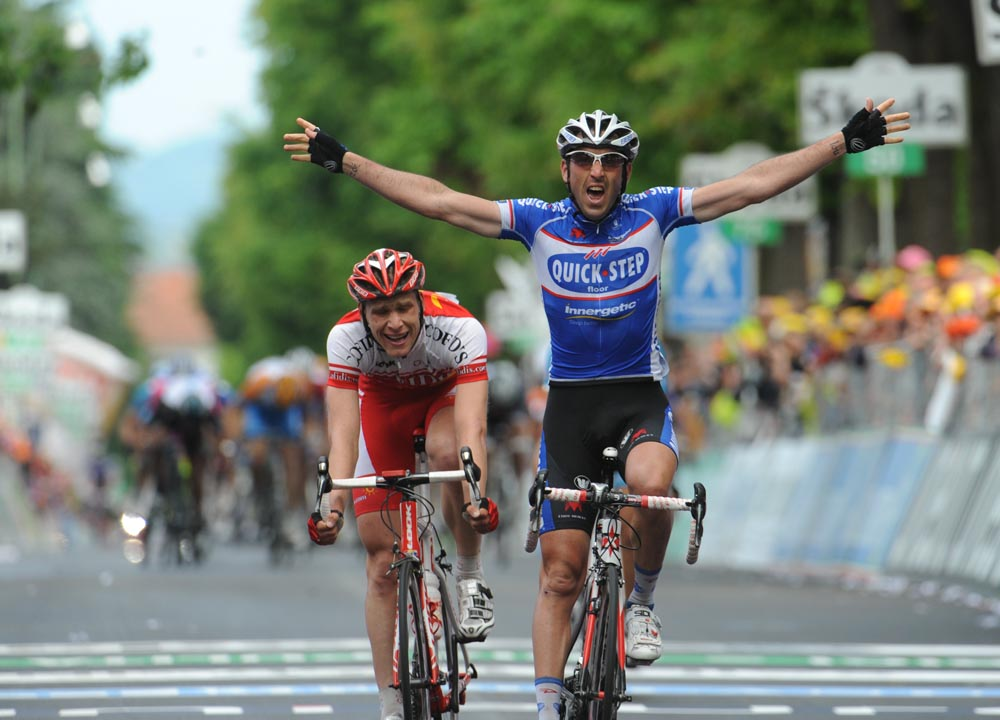 Jerome Pineau, Giro d'Italia 2010 stage 5