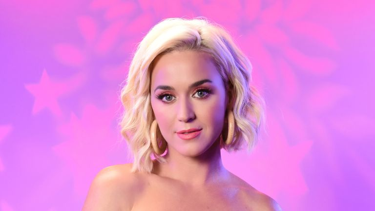 Katy Perry visits the SiriusXM Studios on August 07, 2019 in Los Angeles, California