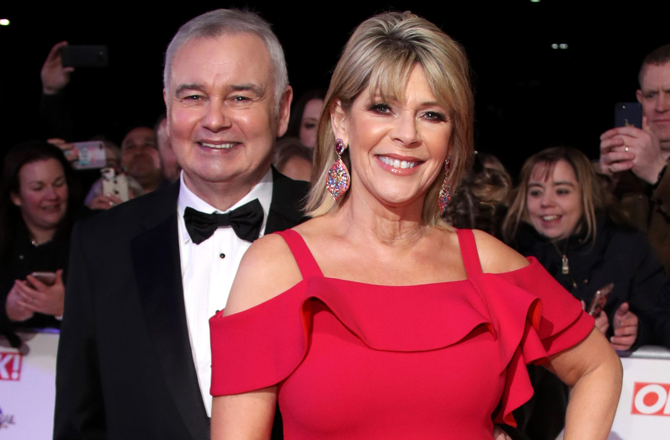 'You look phenomenal!!' Fans can't get over how stunning Ruth Langsford looked at the NTA's last night