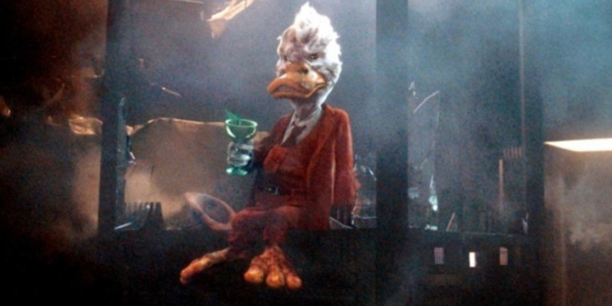 Howard The Duck in Guardians of the Galaxy