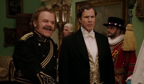 John C. Reilly and Will Ferrell as Holmes And Watson