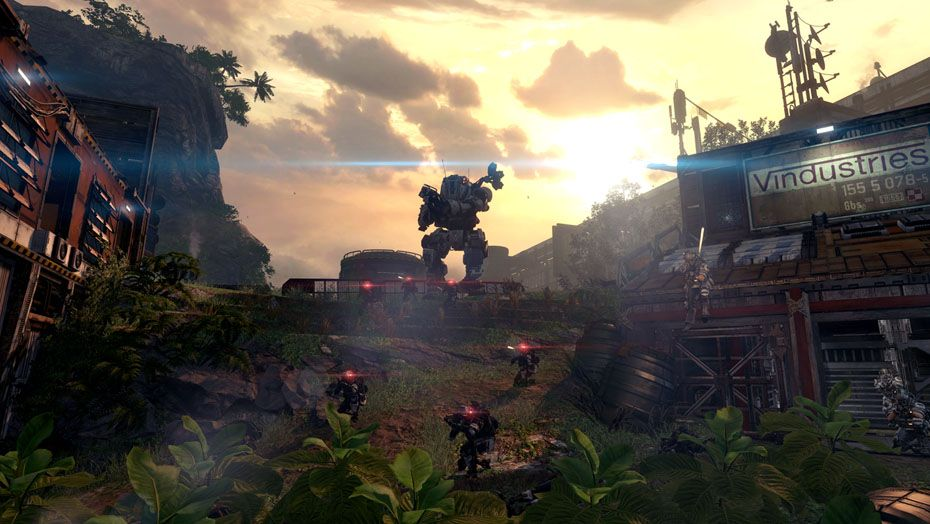 The Steam version of Titanfall has an audio bug, but there's a fix for it