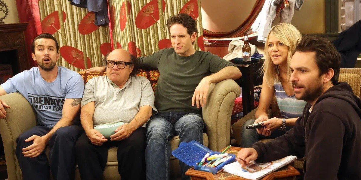 The main cast of It's Always Sunny in Philadelphia.