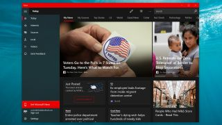 Microsoft News app for Windows 10