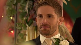 Brody Hudson on his wedding day to Summer Ranger