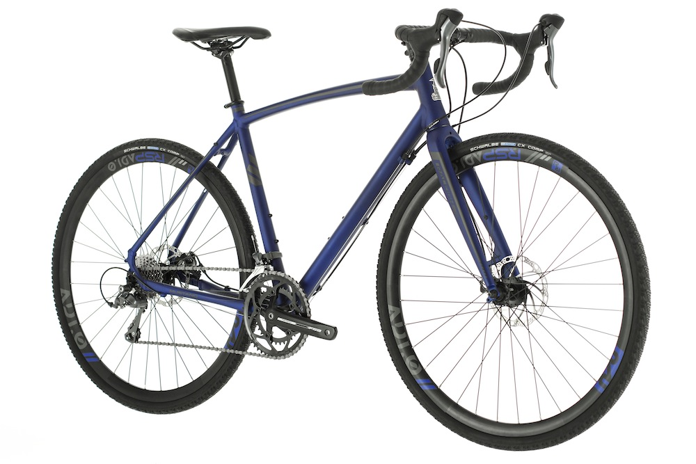 For £650 the base model alloy Mustang comes with Shimano Claris drive chain
