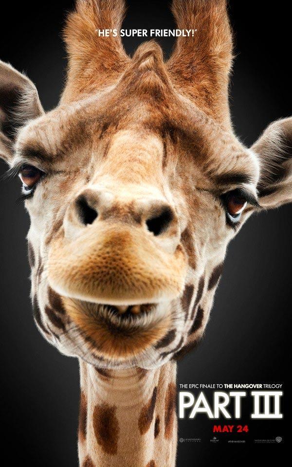 Hangover Part III Giraffe Poster