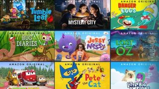 Amazon Prime Video pour enfants
