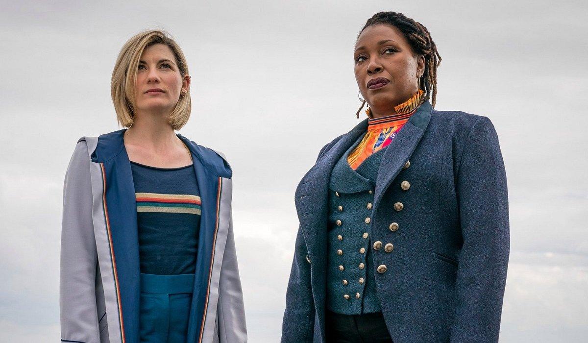 Doctor Who Jodie Whittaker Jo Martin BBC America