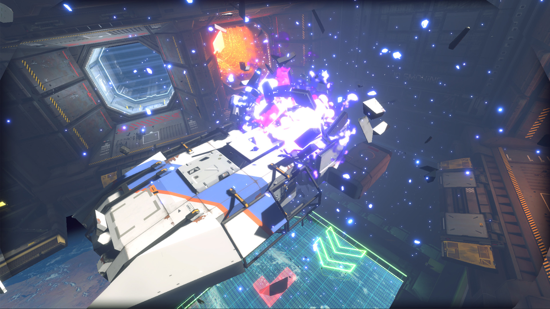 Hardspace: Shipbreaker is relaxing until an explosion propels a hunk of nanocarbon into your face | PC Gamer