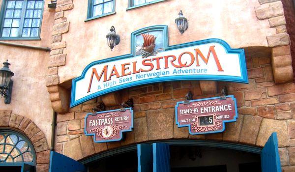 Maelstrom Sign at Walt Disney World