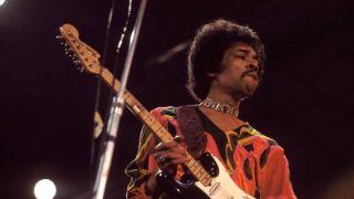 Jimi Hendrix at Isle Of Wight 1970