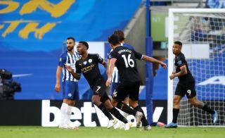 Brighton and Hove Albion v Manchester City – Premier League – Amex Stadium