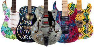 ArtReach Art Guitar auction