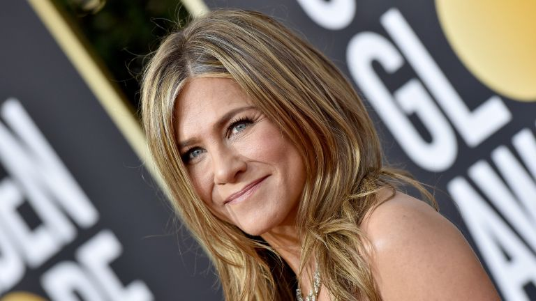 Jennifer Aniston attends the 77th Annual Golden Globe Awards at The Beverly Hilton Hotel on January 05, 2020 in Beverly Hills, California