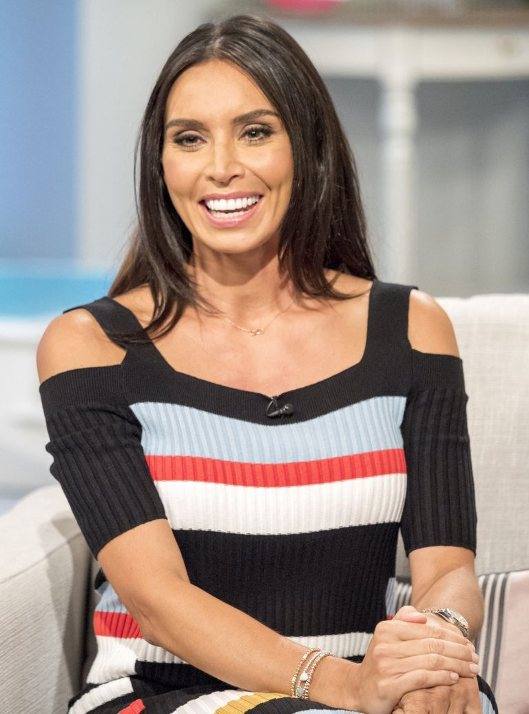 christine lampard M&S dress