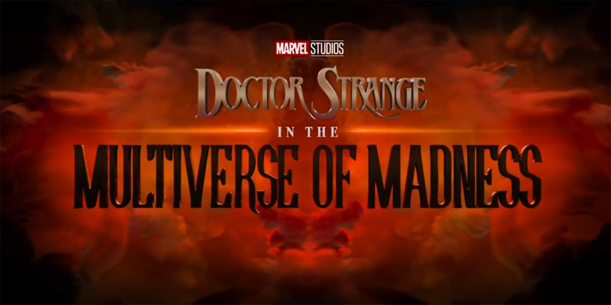 Doctor Strange In The Multiverse Of Madness Title Treatment