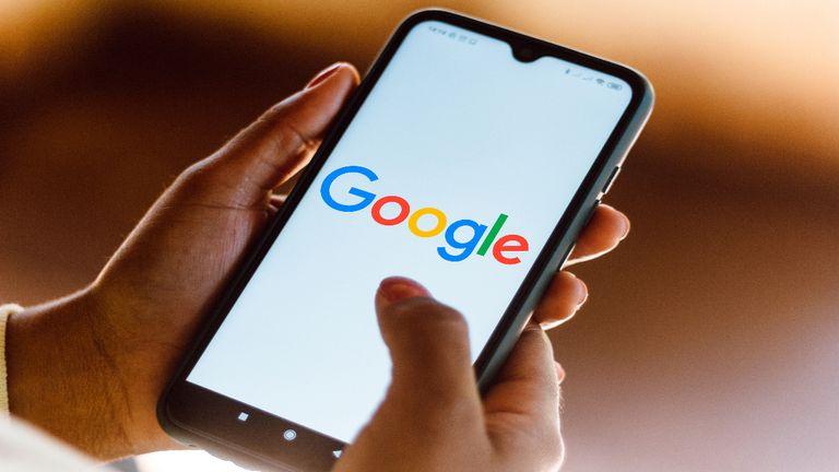 Google logo page