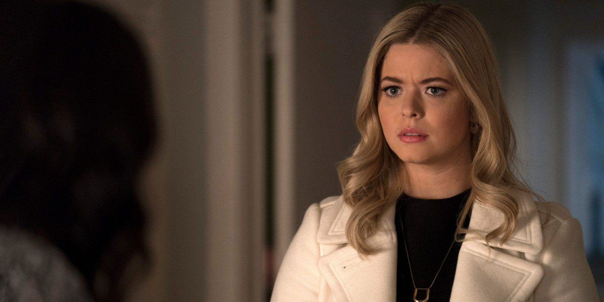 Sasha Pieterse as Alison in Pretty Little Liars