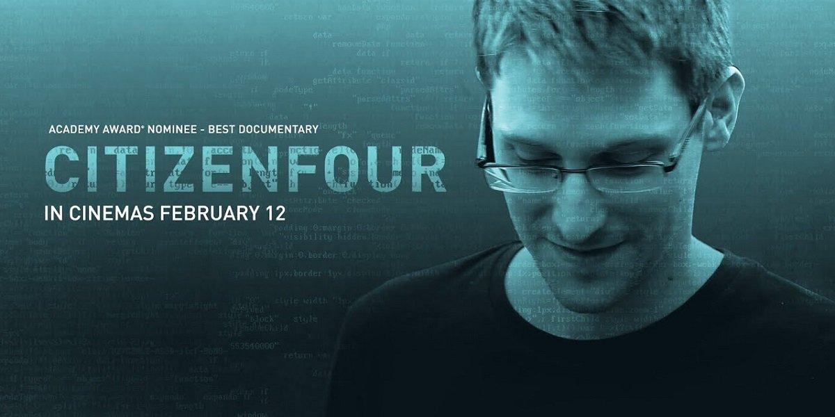 Edward Snowden in Cirtizenfour Documentary