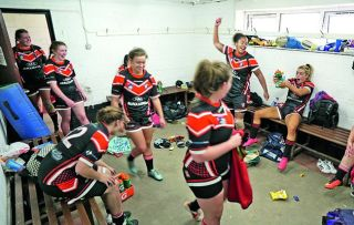 We take a look at the Tees Valley Mohawks' dressing room this week