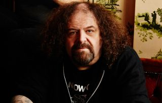Shane Embrury Napalm Death promo pic, by Gobinder Jhitter