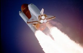 Space shuttle Atlantis launches on STS-27