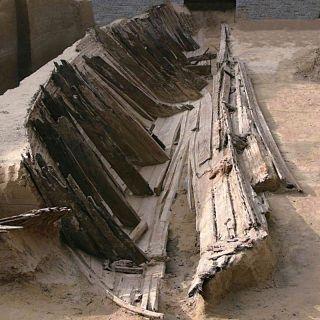 Mongol era shipwreck