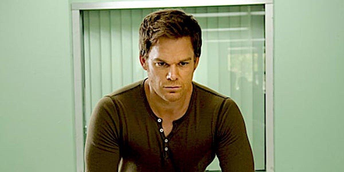 Dexter in the show, Dexter.