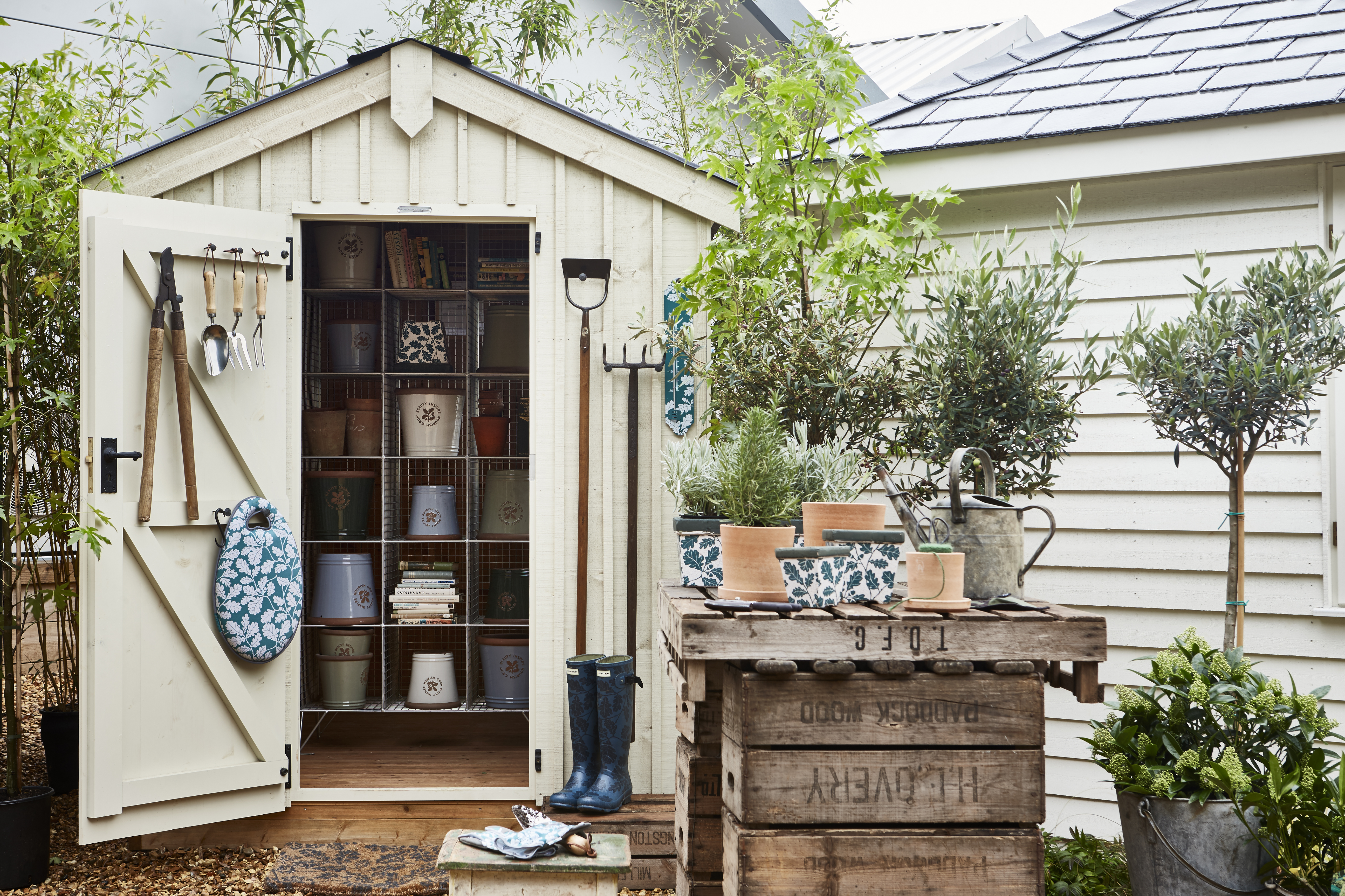 14 Shed Storage Ideas That Ll Keep Your, How To Hang Things In A Garden Shed