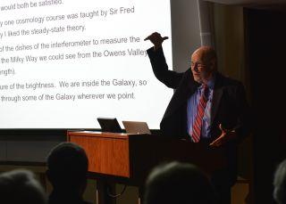 Cosmic Microwave Background Co-Discoverer Robert Wilson