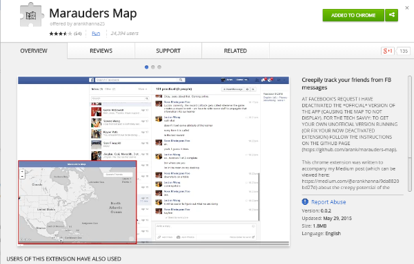 Stalk Facebook Users with 'Marauder's Map' App | Tom's Guide