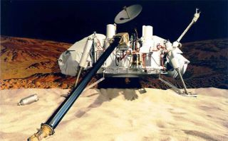 NASA's Viking landers carried four instruments designed to search for signs of Martian life: a gas chromatograph/mass spectrometer, as well as experiments for gas exchange, labeled release and pyrolytic release.