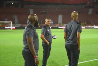 Al Ahly assistant coach Cavin Johnson