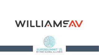 Williams AV at the 2021 PSNI Supersummit