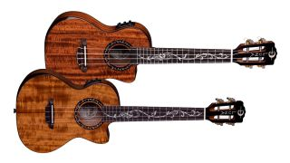 Luna Guitars Vineyard Series Ukuleles