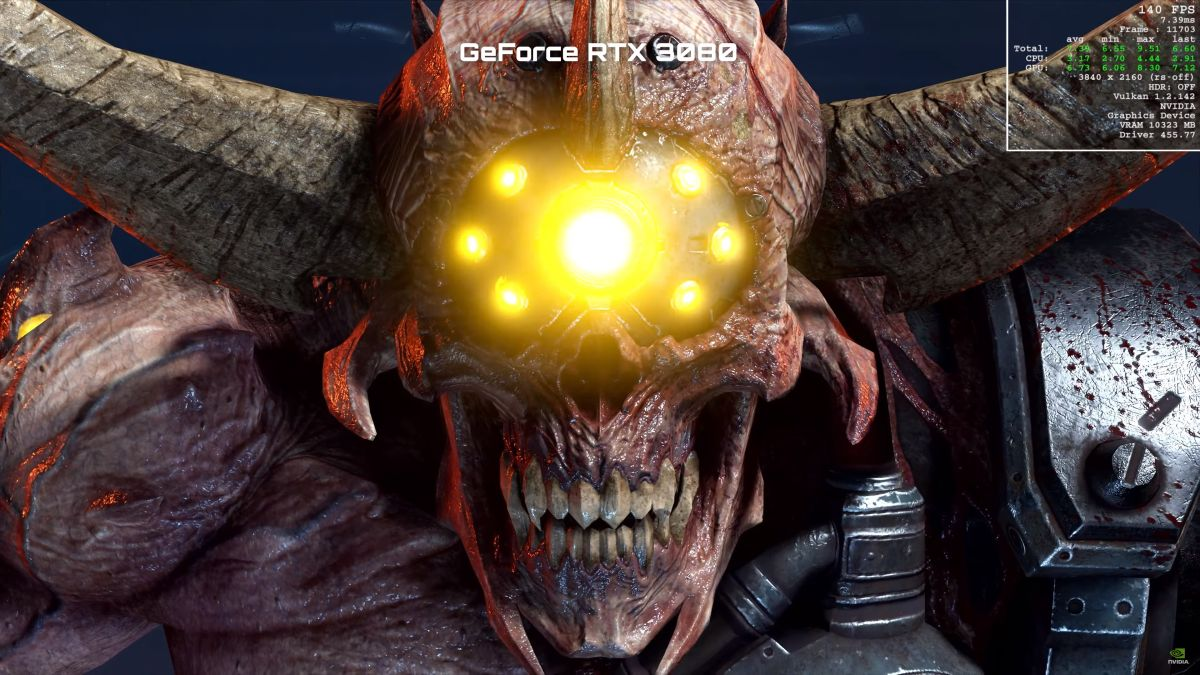 Watch Nvidia's RTX 3080 rip and tear the 2080 Ti at 4K in Doom Eternal – PC Gamer AU