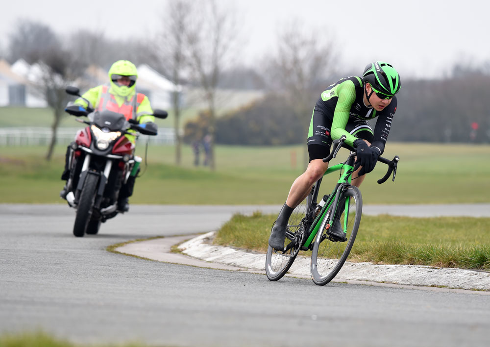 Third category rider Bertie Newey wins Eddie Soens road ...