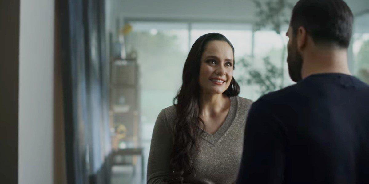 Alejandro Nones and Ana Lucía Dominguez in Who killed Sara