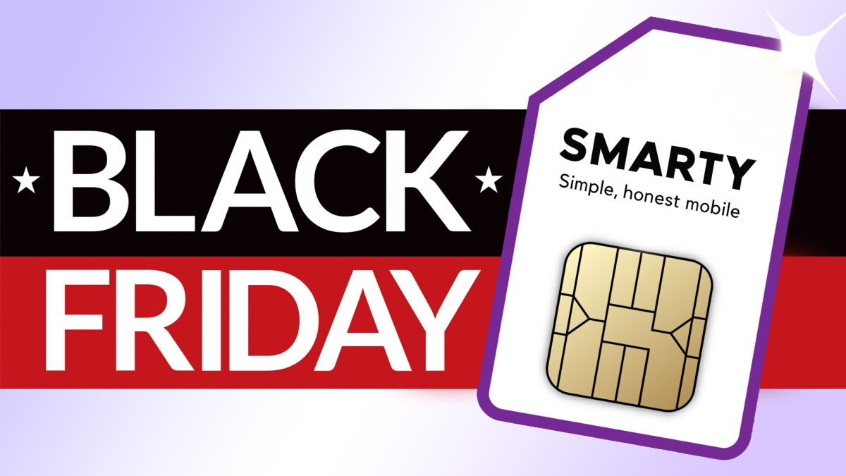 Smarty Black Friday SIM only deal delivers 100GB data for £17 p/m and no contract - T3