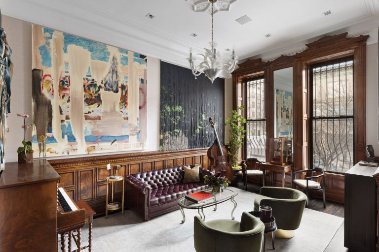 parlor bar in Neil Patrick Harris' house