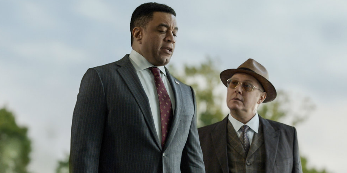 The Blacklist Harold Cooper Harry Lennix Raymond Red Reddington James Spader NBC