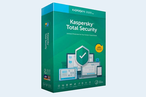 Best antivirus: Kaspersky Total Security 2020 Box Art