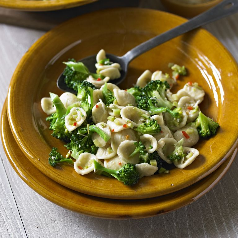 photo of Pasta with Broccoli and Anchovy Sauce