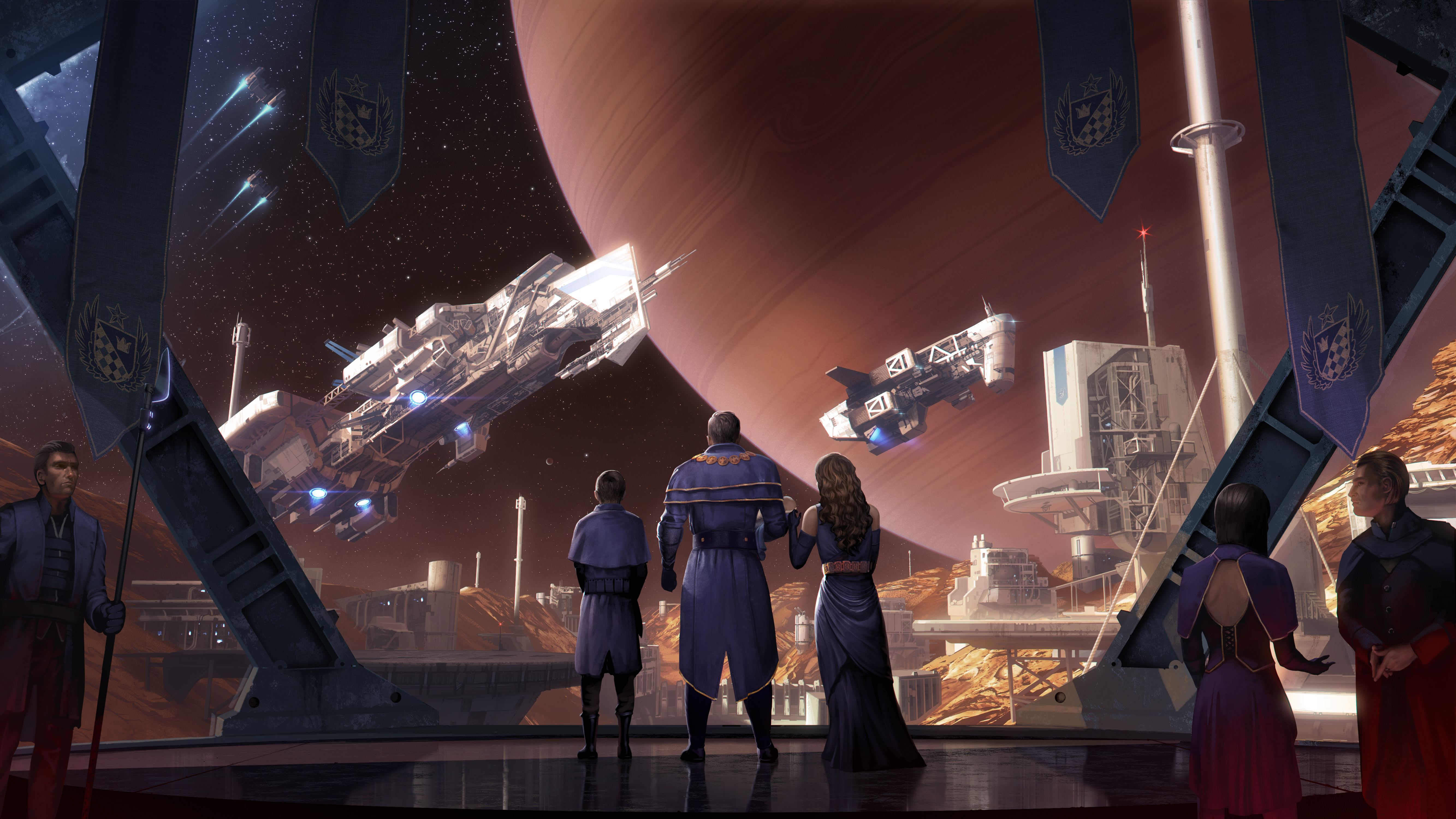 Sex scandals are tearing the galaxy apart in my Star Dynasties campaign