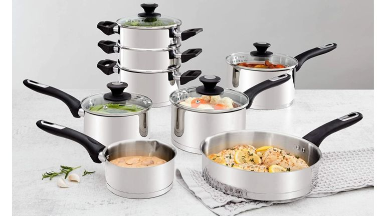 Morphy Richards Induction Pan Set in the Amazon Black Friday sale