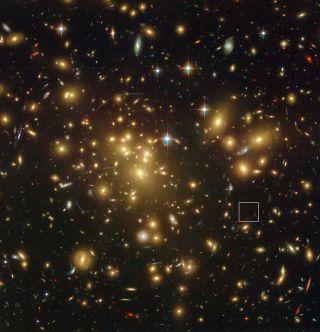 Galaxy Cluster Abel 1689
