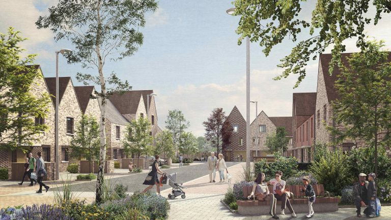 Proposed Oakfield development in Swindon by Nationwide